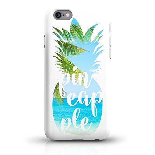 "JUNIWORDS Handyhüllen Slim Case für iPhone 6 / 6s - Motiv wählbar - ""Anker Design 1 Dunkelblau"" - Handyhülle, Handycase, Handyschale, Schutzhülle für Ihr Smartphone Ananas Design 3 Strand"