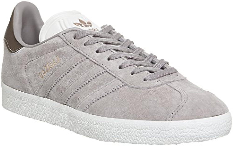 Adidas - Zapatillas de Cuero para Mujer Gris Vapour Grey Off White Copper Exclusive 36 2/3 EU
