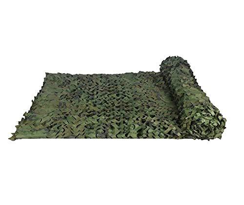 DLLzq Tarnnetz Im Dschungel Militärische Camouflage Camping Leder Waldtarnnetz Camping Fotografie Partydekorationen,6M×8M