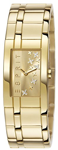 Esprit Damen-Armbanduhr Analog Quarz Edelstahl beschichtet ES107292003