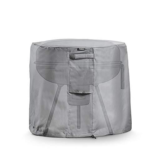 VonHaus Abdeckung Abdeckhaube für runde Grills - Wasserdichte, atmungsaktive Schutzhülle für drinnen & draußen - Schutz vor Wind, Regen, Frost, Hitze, Staub & mehr
