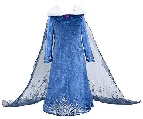 Princess Adventure Kostüm Kostüm (120, E52-blue) ()