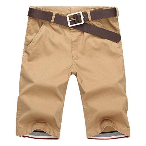 Shorts Herren Sommer LHWY Männer Sport Atmungsaktiv Hosen Kurz Freizeithose Knielang Fitness Laufhose Tasche Streetwear Overalls Teens Jungs