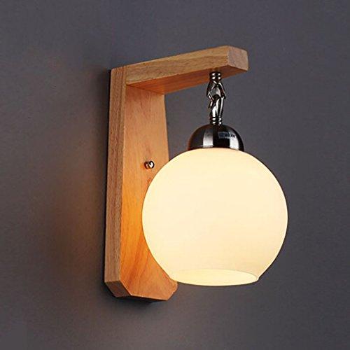 wandlampen Eiche Wand Lampe / Holz Modern Einfache Stil Werke Schlafzimmer Nachttisch / Gang Treppenhaus Wand Lampe lampen -