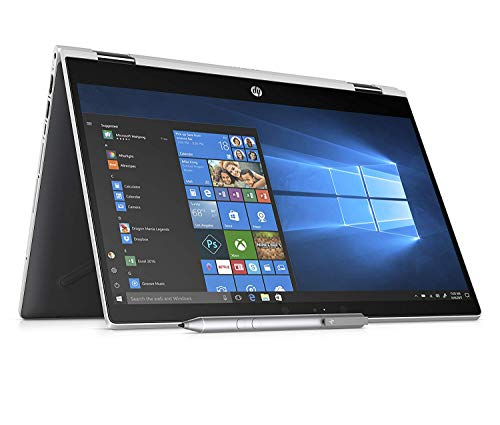 Foto HP Pavilion x360 14-cd0015nl, PC Convertibile, Intel Pentium Gold 4415U, 8 GB di RAM, 128 GB SSD, Audio B&O PLAY, Argento Naturale