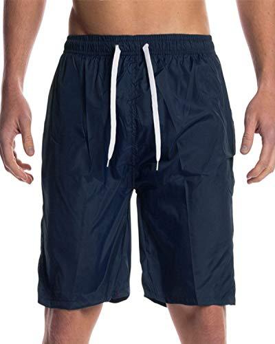 INCERUN - Pantalón Corto - Hombre Dark Blue Swim
