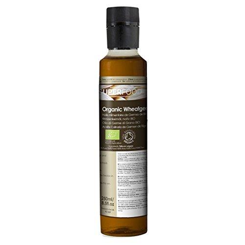 Naissance Aceite culinario de Germen de Trigo Virgen BIO - 250ml - Convive, certificado ecológico y...