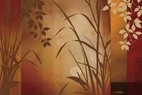Flaxen Silhouette (The Poster Corp Edward Aparicio - Flaxen Silhouette Kunstdruck (60,96 x 91,44 cm))