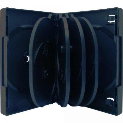 XLayer 10fach 10er DVD CD Box Hüllen