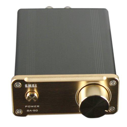 24v Verstärker (SMSL SA-50 2x50W D-AMP TDA7492 Hi-Fi Stereo Verstärker)