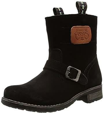 Le Temps des Cerises Junior Aloe, Boots fille - Noir (Black), 32 EU