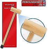 Percussion Plus PP012 - Maza para campanas tubulares (2.36 pulgadas de longitud)