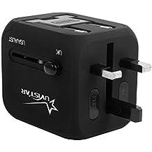 Adattatore universale di corsa con il USB doppio del caricatore