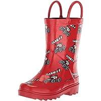 Adtec Baby CI-5001 Rain Boot, Red, 6 Medium US Toddler