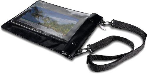 Speedlink Spritzwasserfeste Schutzhülle - CUDA Tablet Beach Skin (bewahrt vor Spritzwasser, Staub, Schmutz und Kratzern - aufrollbar für geringen Platzbedarf) für Tablets / eBook-Reader / Smartphones bis 7´´ schwarz