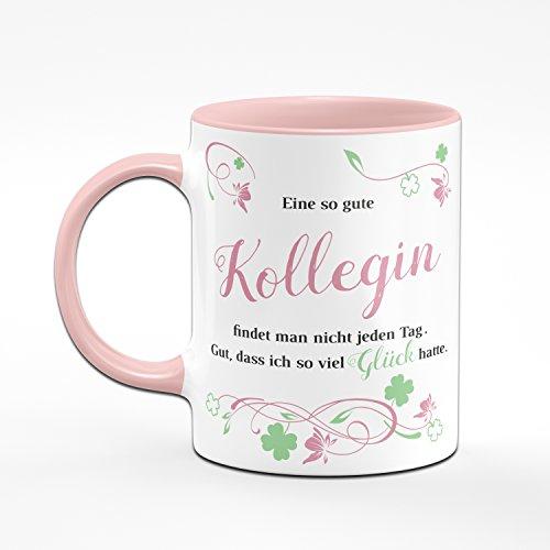 Tasse Eine so Gute Kollegin Findet Man Nicht Jeden Tag - Bürotasse - Kaffeetasse - Ideale Geschenk für Arbeitskollegin, Deine Lieblingskollegin - Geschenk für Kollegin - 2