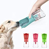 YGQersh Bebedero para Mascotas Que Camina al Aire Libre Dispensador de viajeportátil Botella de Agua con