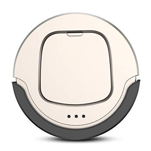 Heomeby Roboter-Staubsauger, geeignet zum Reinigen von Fußböden, Teppichen, Marmor usw, Haushalts-Staubsaugerroboter, automatisches Laden, Infrarot-Festpunktfernbedienung,Gold