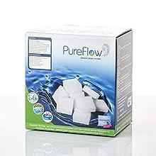PureFlow Materiale del Filtro:, Bianco