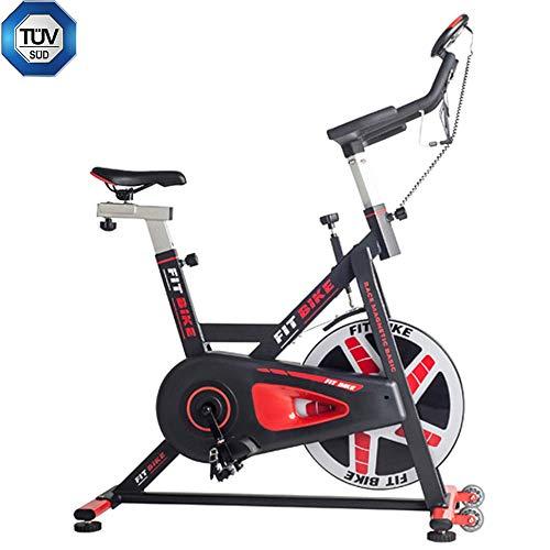 FitBike Indoor Cycle Race Magnetic Basic - 20 kg Schwungrad - Poly V-Riemen und Magnetisches Widerstandssystem - Mit Trainingscomputer - Spinning Fahrrad