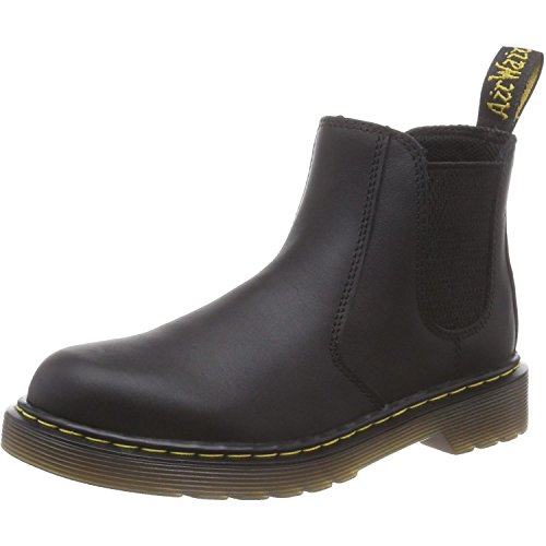 Dr. Martens Unisex Kinder 2976 Y Chelsea Boots, Schwarz (Black Softy T 001), 38 EU