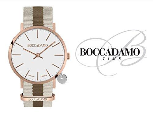 Orologio Donna Boccadamo Time Mya Collection MY010 Ros/Bian/Marr