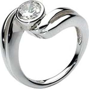 Dew Stone Twist Ring- Size M