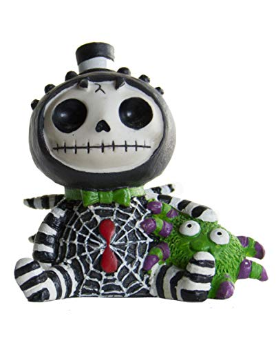 Horror-Shop Kleine Webster Furrybones Figur Spinne - die Geschenkidee für Gothic Fans (Halloween Es Skellington Jack Ist)