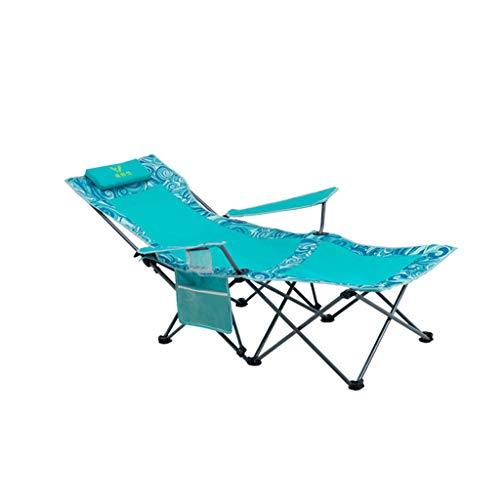 Liegestuhl Portable Klappstuhl Haushalt Outdoor Angeln Stuhl Sechs-Punkt-Unterstützung Speed-Speicher ( Farbe : C ) - Speed-speicher
