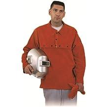 Steel Grip BDL490-19C-XL - Ropa de trabajo para soldar, con protección dorsal de 48,2 cm, talla XL