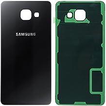 Original Samsung Tapa de batería Black/Negro Para Samsung a510F Galaxy A5(2016)–(Tapa para batería, Tapa trasera,, Back Cover)–GH82–11020b