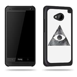 Schutzschale für HTC One, Motiv Illuminati