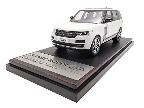 LCD Models LCD43001WH - Land Rover Range Rover SV Autobiography Dynamic 2017 White - maßstab 1/43 - Sammlungsmodell - diecast Lcd-land Rover
