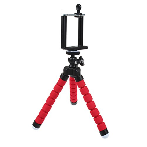Flexible Mini Phone Tripod Stand,Heyqie(TM) Lightweight Octopus Style  Portable and Adjustable c8242fef910b