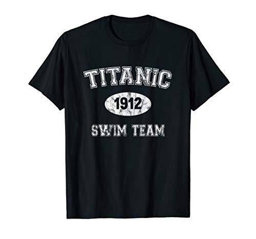 Titanic 1912 Swim Team T-Shirt - Swim-team T-shirts