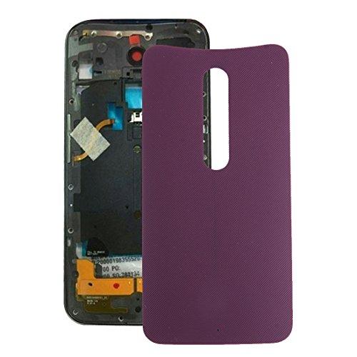 HAOHAOCHENG-WL Sostituzione Compatibile IPartsBuy for Motorola Moto X Style Copertura Posteriore della Batteria di Accessori (Colore : Viola)