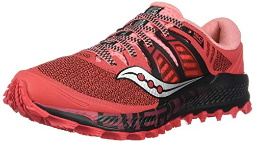 Saucony Peregrine ISO Trail running shoe Ladies Red Size : 42