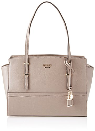 Guess Hwvg6421080, Borsa a Mano Donna, 13 x 22.5 x 36 cm (W x H x L) Grigio (Taupe)