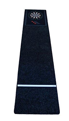 *Dartteppich Darts Teppich Dartmatte für Steeldart + Klett Oche + Bouncer Schutz*