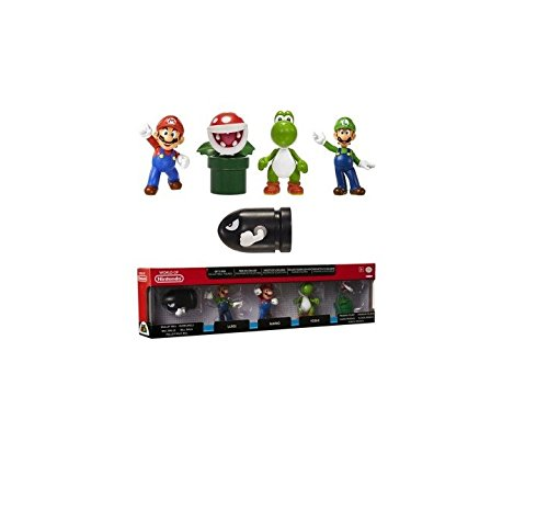 Nintendo Mini Figur (6cm) 5er Pack W1