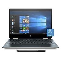 HP Spectre x360 13-ap0004ne, 2 in 1 Laptop, Intel Core i7-8565U, 13 Inch, 1TB SSD, 16GB RAM, Intel UHD Graphics, Win 10, Eng-Ara KB, Blue