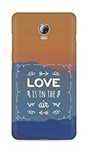 Amez Love is in the Air Back Cover For Lenovo Vibe P1