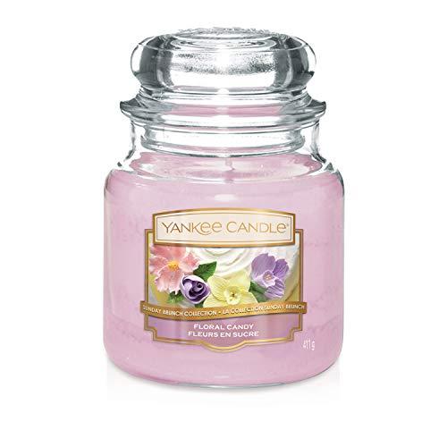 Sunday Brunch Kollektion der Yankee Candle Kerze im mittelgroßen Jar,