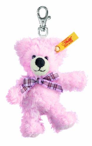 Steiff 112317 - Schluesselanhaenger Teddybär, 11 cm, rosa