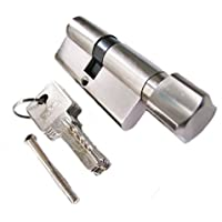 60 mm Tür-Knaufzylinder 30x30 Türschloss inkl. 5 Schlüssel
