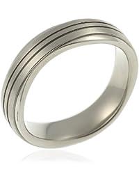 CORE by Schumann Design Herren-Ring aus Titan ohne Stein TT058.01
