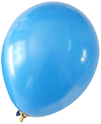 homeford Premium Latex Luftballons Uni Farbe, 12Zoll, Royal Blau, 12Stück (Royal Latex-luftballons Blau)