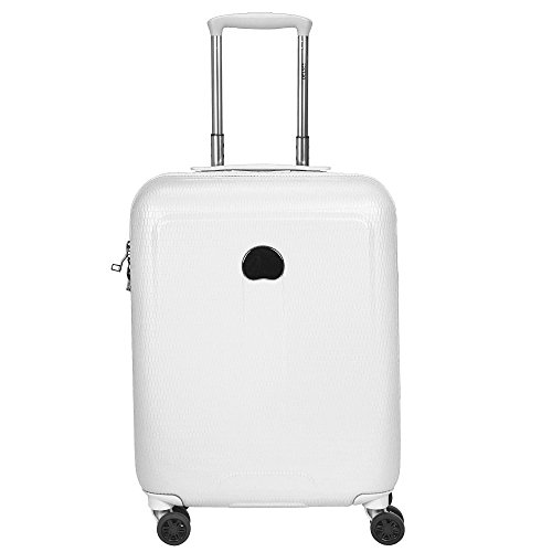 Delsey Helium Air 2 Bagage Cabine, 55 cm, 44 L, Blanc