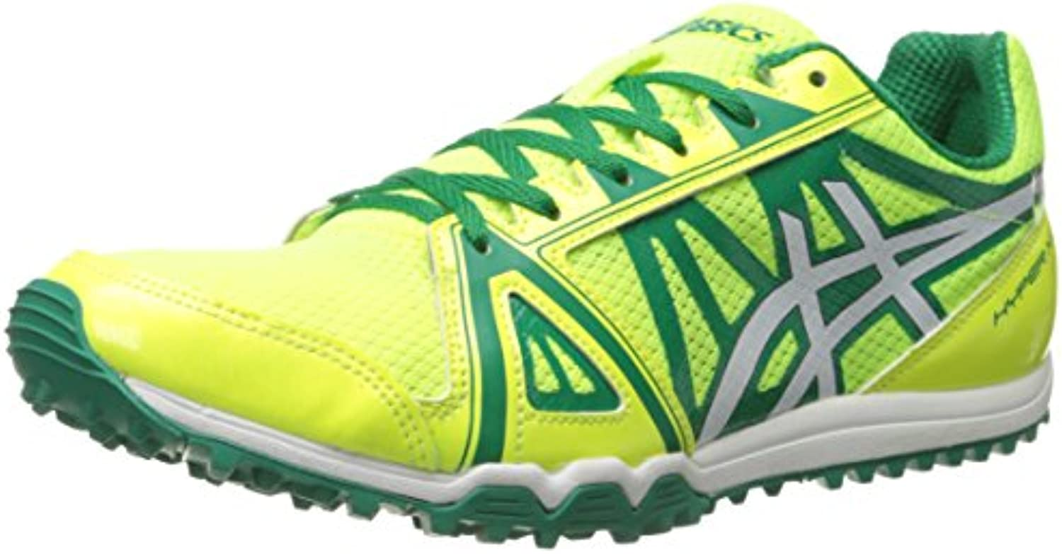 Hombre Hyper XC Cross Country Spike, Flash Amarillo / Kelly Green, 11.5 M US
