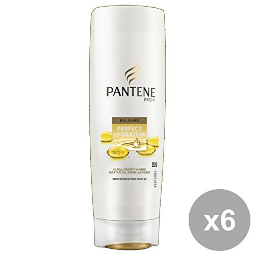 Set 6 PANTENE Balsamo PERFECT HYDRATION 200 Ml. Prodotti per capelli